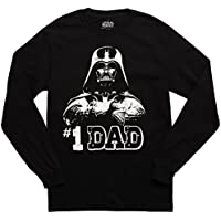 Fifth Sun Star Wars #1 Dad Adult Long Sleeved T-Shirt - Black (Medium)