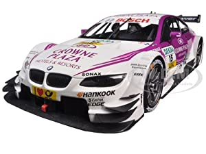 BMW M3 DTM Crowne Plaza Team RBM Mampaey Andy Priaulx 2012#15 1/18 Diecast Model Car by Minichamps サイズ : 1/18 [並行輸入品]