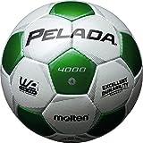 molten(モルテン) サッカーボール ペレーダ4000   4号 白×緑 F4P4000-WG
