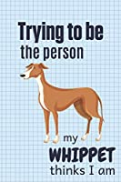 Trying to be the person my Whippet thinks I am: For Whippet Dog Breed Fans