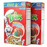 TRIX トリックス コーンパフ ホールグレイン シリアル 2箱セット Trix [海外直送品]