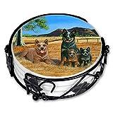 Gone Doggin Australian Cattle Dogセラミックコースターセット–ACD Gifts for Dog Lovers