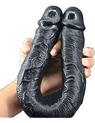 ChenXiDian 人工的なエミュレーションP-enis、超太い、そして超大型の人工ペニスとA'uctionカップベースS'ucker M'asturbation 本当の感触