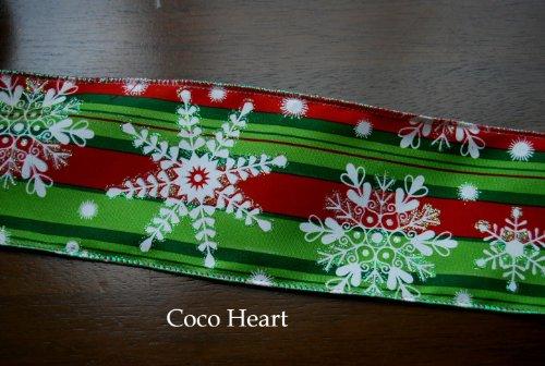[해외]~ Coco Heart ~ X`mas 그린 스노우 넓은 와이어 들어가 1m 단위 (임대 · 뿌리 · 드라이 플라워)/~ Coco Heart ~ X`mas Green Snow 1 m unit with wide wire (Lease · Puriza · Dry Flower)