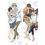 lalarose スーパー LOVERS カスタム 抱き枕カバー 両面プリント 2WAYトリコット アニメ 漫画 160x50cm 78011