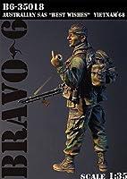 "Bravo6 B6-35018 1/35 豪 SAS""ご武運を""ベトナム'68"