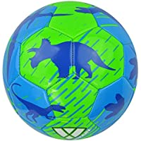 Vizari Dino Soccer Ball Size Green/Blue 3 【You&Me】 [並行輸入品]