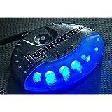 キラメック(KIRAMEK):LEDスキャナー(16パターン/3スピード) 型式:LM400R+