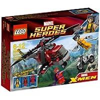 レゴ (LEGO) スーパー?ヒーローズ ウルヴァリン(TM)の ヘリ対決 6866