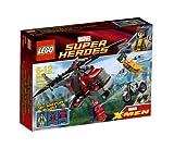 レゴ (LEGO) スーパー・ヒーローズ ウルヴァリン(TM)の ヘリ対決 6866