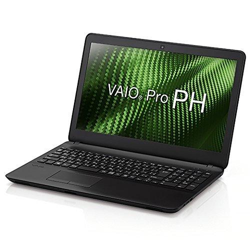 VAIO VAIO Pro PH 15.5型ワイド/i5/8G 4+4 /HDD500G/1366x768/TPM/DVD/Win10Pro/黒/VAIO株式会社製  VJPH111KAL1B