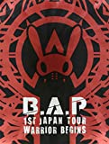 1ST JAPAN TOUR LIVE DVD「WARRIOR Begins」(初回限定版-LIMITED EDITION-)/