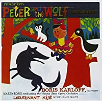Prokofieff's Peter And The Wolf by Karloff (2006-10-24)