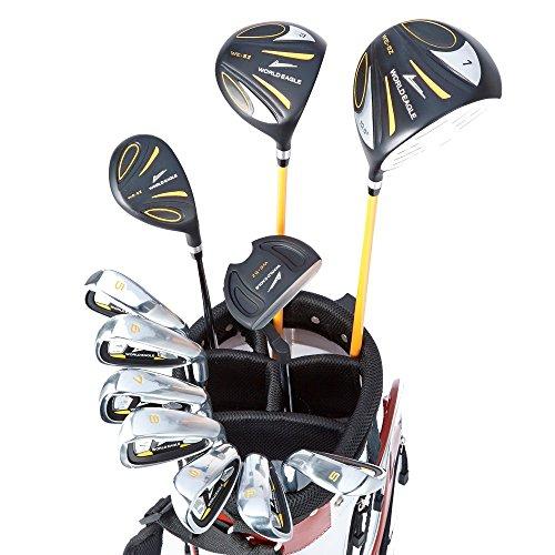 [해외]WORLD GOLF (월드 골프) 월드 이글 WE-5Z 남성 골프 세트 블랙 S + 화이트   레드 J-F-01α 스탠드 가방 5z-b   s + f-01 w   r/WORLD GOLF (World Golf) World Eagle WE - 5 Z Men `s Golf Set Black S + White   Red J - F - 01 α Stand Bag 5 z ...