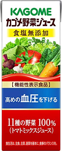 カゴメ 野菜ジュース 食塩無添加(200mL*12本入)