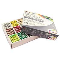 Pentel Arts Oil Pastels, 432 Piece Classroom Size Pack (PHN-12CP) by Pentel