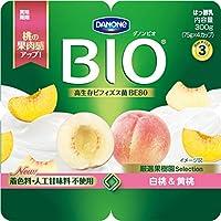 [冷蔵] ダノン ビオ 白桃 & 黄桃