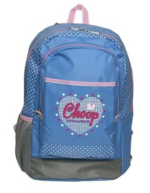 (シュープ) CHOOP ドットハート デイパック/リュックサック Mサイズ 1251 (ブルー)