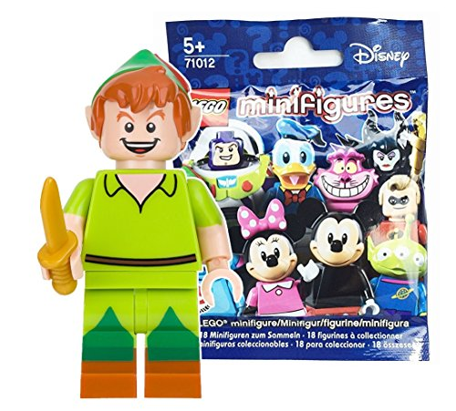 レゴ (LEGO) ミニフィギュア (ミニフィグ) ディズニーシリーズ ピーターパン 未開封品 (Minifigure Disney Series) 71012-15