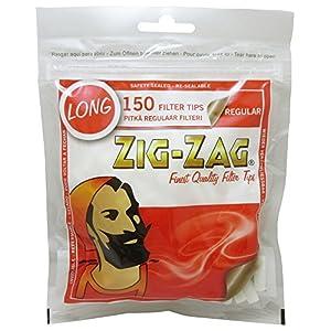 柘製作所(tsuge) ジグザグ ロングレギュラーフィルター [約150個入り]