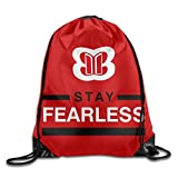 Nikki Bella Stay Fearless Bella Twins Drawstring Gymsackバッグ One Size msp66x-10272279