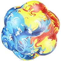 cinhentノベルティSquishy不規則な球スーパーSlow Rising SqueezeストレッチStress Relief Weirdゴムおもちゃ 4cm マルチカラー CHINA-8808