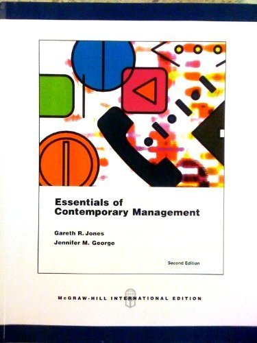 be the manager essay essentials of contemporary management chapter 11 Management planning, organizing, leading and controlling of human and other resources to achieve organizational goals efficiently and effectively efficiency measure of how productively resources are used to achieve a goal.