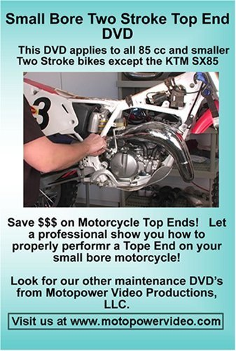 Small Bore Two Stroke Top End DVD by Motopower Video Productions LLC