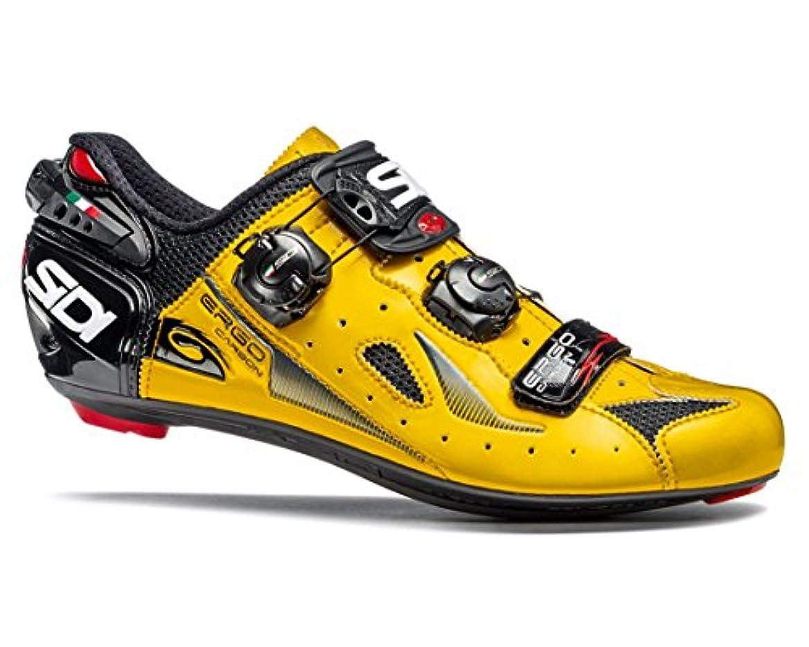 恩恵ロードハウス強いますSIDI(シディ) Ergo 4(エルゴ 4) ロードサイクリングシューズ - Yellow/Black(イエロー/ブラック) [並行輸入品]
