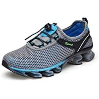 GOMNEAR Running Shoes Men Breathable Fashion Casual Stylish Sneakers Athletic Springblade Walking Big Size Shoes