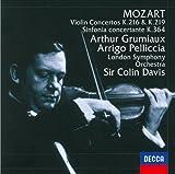 モーツァルト:ヴァイオリン協奏曲第3&5番/協奏交響曲 画像