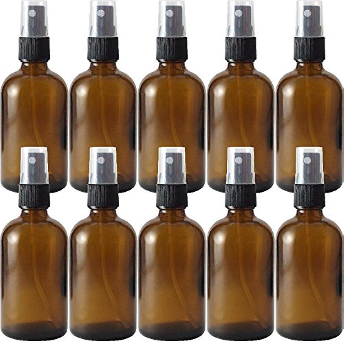 細胞区別ペデスタル遮光瓶 茶 100cc 黒スプレー SYA-T100cc黒スプレー -10本セット-