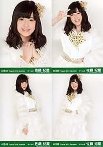 AKB48 公式生写真 Theater 2014.December 月別12月 【佐藤妃星】 4枚コンプ
