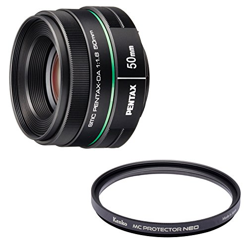 PENTAX 望遠単焦点レンズ DA50mmF1.8 Kマウント APS-Cサイズ 22177 + Kenko レンズフィルター MC プロテクター NEO 52mm レンズ保護用 725207 セット