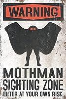 Mothman–メタルサイン 24 x 36 Signed Art Print LANT-82306-710