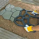 Hedea (ヘデア) DIY ガ-デニング 成型 型枠 モールド セメント レンガ ブロック 庭 歩道 通路 園路 (ランダム)