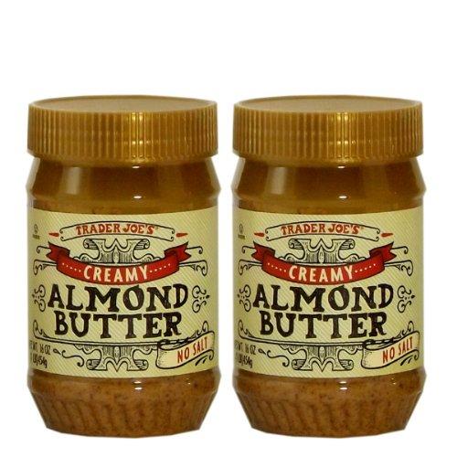 Trader Joe's トレーダージョーズ アーモンドバター( クリーミータイプ 無塩)2個セット [並行輸入品]