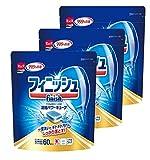 フィニッシュ 食洗機用洗剤 タブレット パワーキューブ 60個× 3 (180回分)