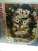 1000 Pieces Ravensburger Puzzle Love Is A Gamble 27 x 20 [並行輸入品]