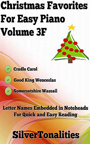Christmas Favorites for Easy Piano Volume 3F (English Edition)