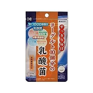 ヨーグルト10個分の乳酸菌 200mg×62粒