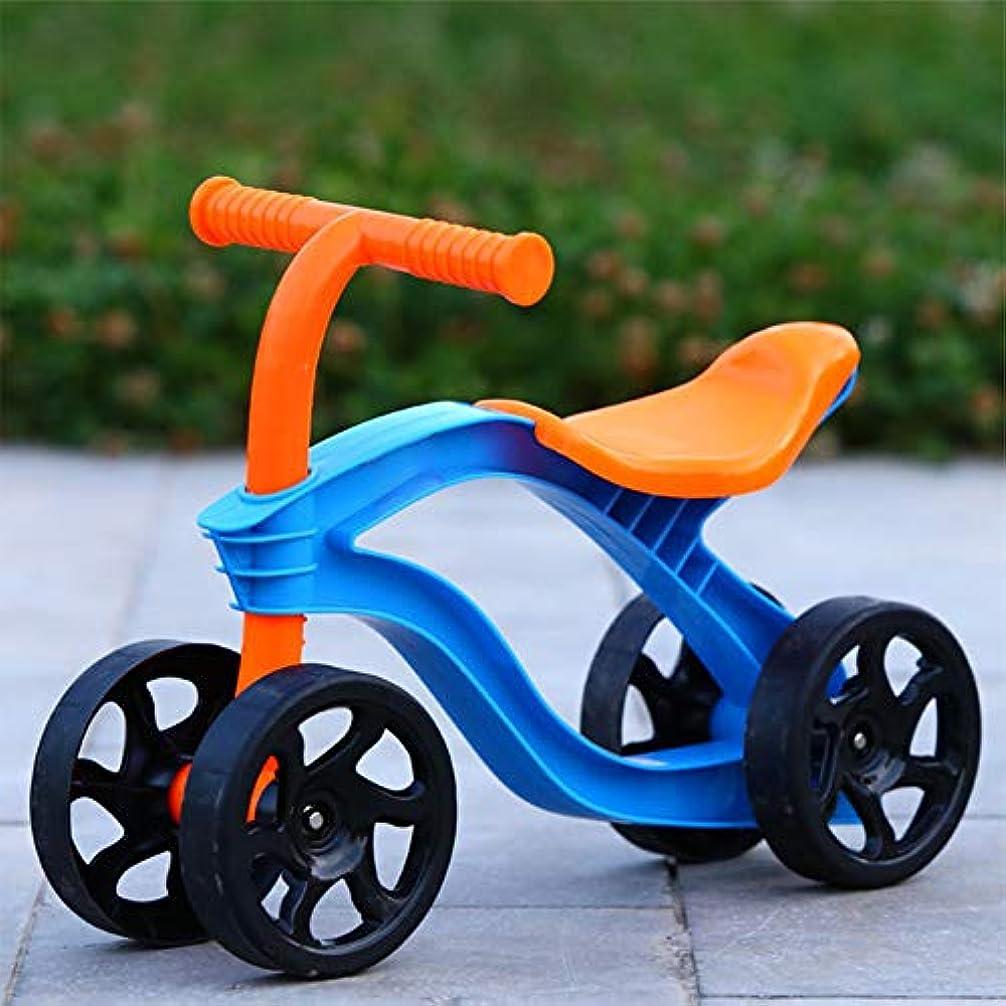 クラス告発者木曜日4ホイール子供プッシュスクーター1-3歳の女の子男の子バランスバイクウォーカー幼児スクーター自転車子供のための屋外のおもちゃ