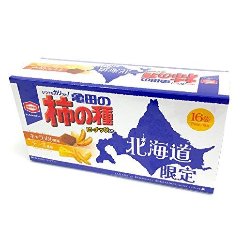 亀田の柿の種 北海道限定 192g 16袋