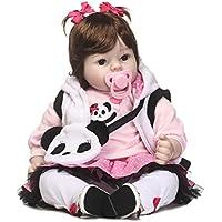 SanyDoll Rebornベビー人形ソフトSilicone 22インチ55 cm磁気Lovely Lifelike Cute Lovely Baby b0763lrv9s