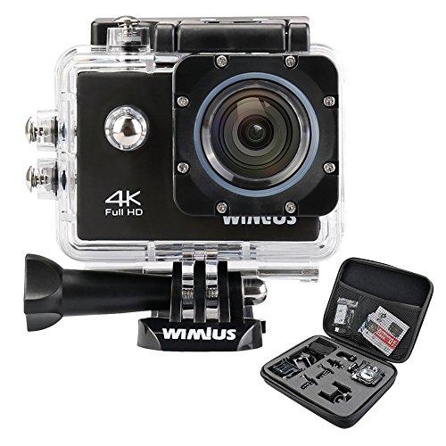 WIMIUS Wifi 4K(30FPS) アクションカム ...