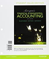 Horngren's Financial & Managerial Accounting Student Value Edition Plus MyLab Accounting with Pearson eText - Access Card Package (5th Edition) [並行輸入品]