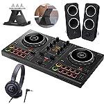 PIONEER DJ スマートDJコントローラー DDJ-200 + ヘッドホン ATH-S100 + スピーカー Z200 + スマホスタンド + ステッカー付き セット