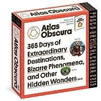 Atlas Obscura 2019 カラーページアデイカレンダー