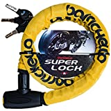 Barrichello(バリチェロ) スーパーロック φ(直径)22mm×1200mm ワイヤーロック 盗難防止 軽量タイプ 保証付き