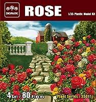 ダイオパーク 1/35 薔薇セット 80株入り プラモデル DP35011